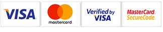 tarjetas de crédito admitidas